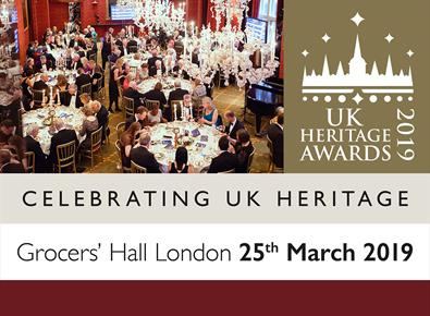UK Heritage Awards 2019 - 25th March