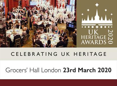 Uk Heritage Awards 2020 at Grocers' Halls London