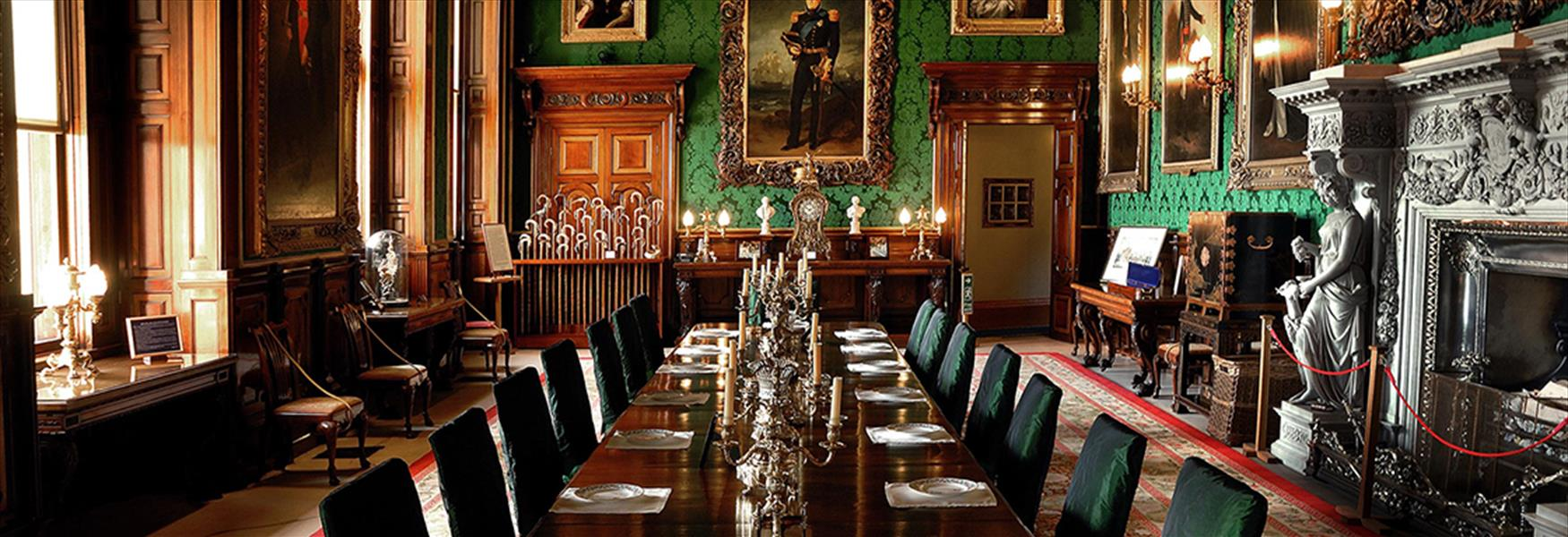 Alnwick Castle Dining Room