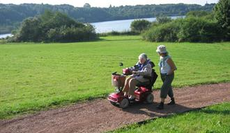 Walks for All - Astbury Mere Country Park