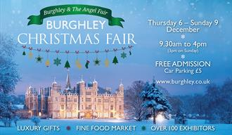 Burghley Christmas Fair 2018