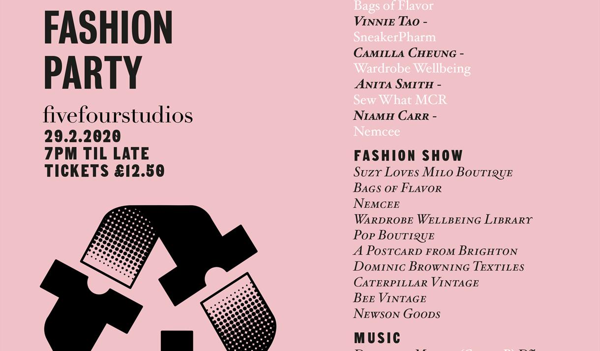 Manchester's Sustainable Fashion Party
