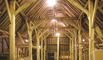 Inside The Great Barn.
