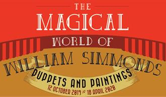 The Magical World of William Simmonds: Puppets & Paintings