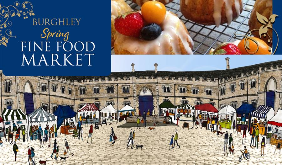 Burghley House: Spring Fine Food Market
