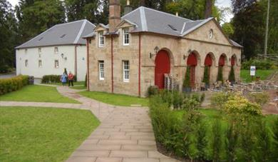 Coach House Cafe at Dumfries House exterior