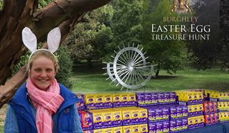 Burghley House: The Burghley Easter Egg Hunt