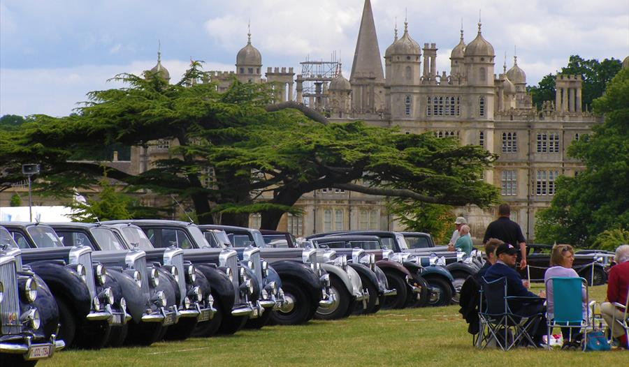 Burghley House: Rolls Royce Enthusiasts Club Annual Rally