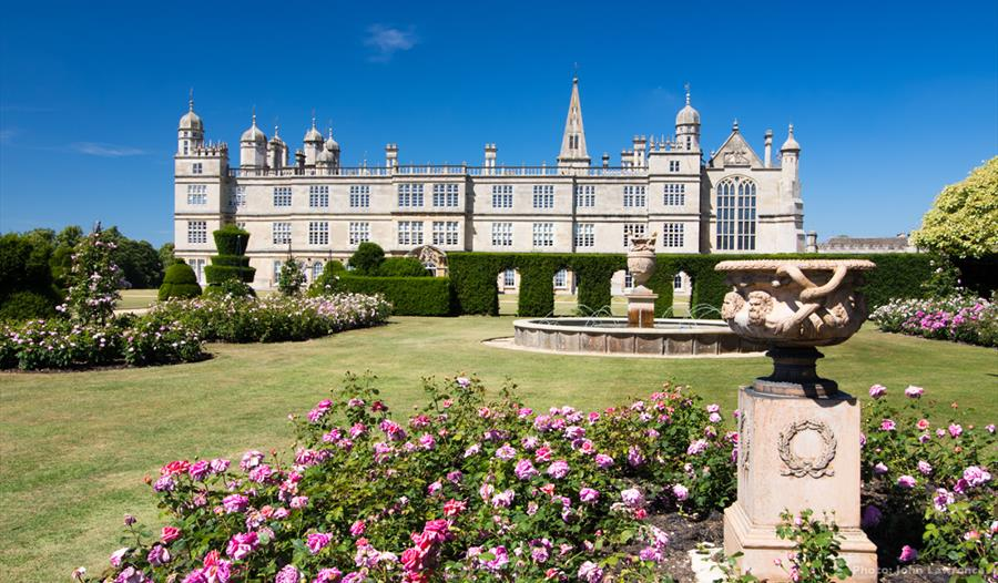 Burghley House: National Gardens Scheme - South Gardens Open