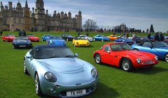Burghley House: TVR Car Club – Season Opener